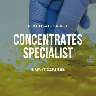 concentrates specialist course