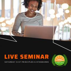 3/27 live seminar