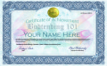 herbal risings certificate