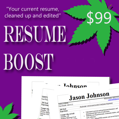Resume Editing Service cannabis careers