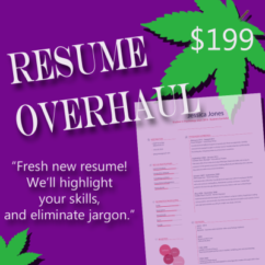 Resume Writing Service dispensaries